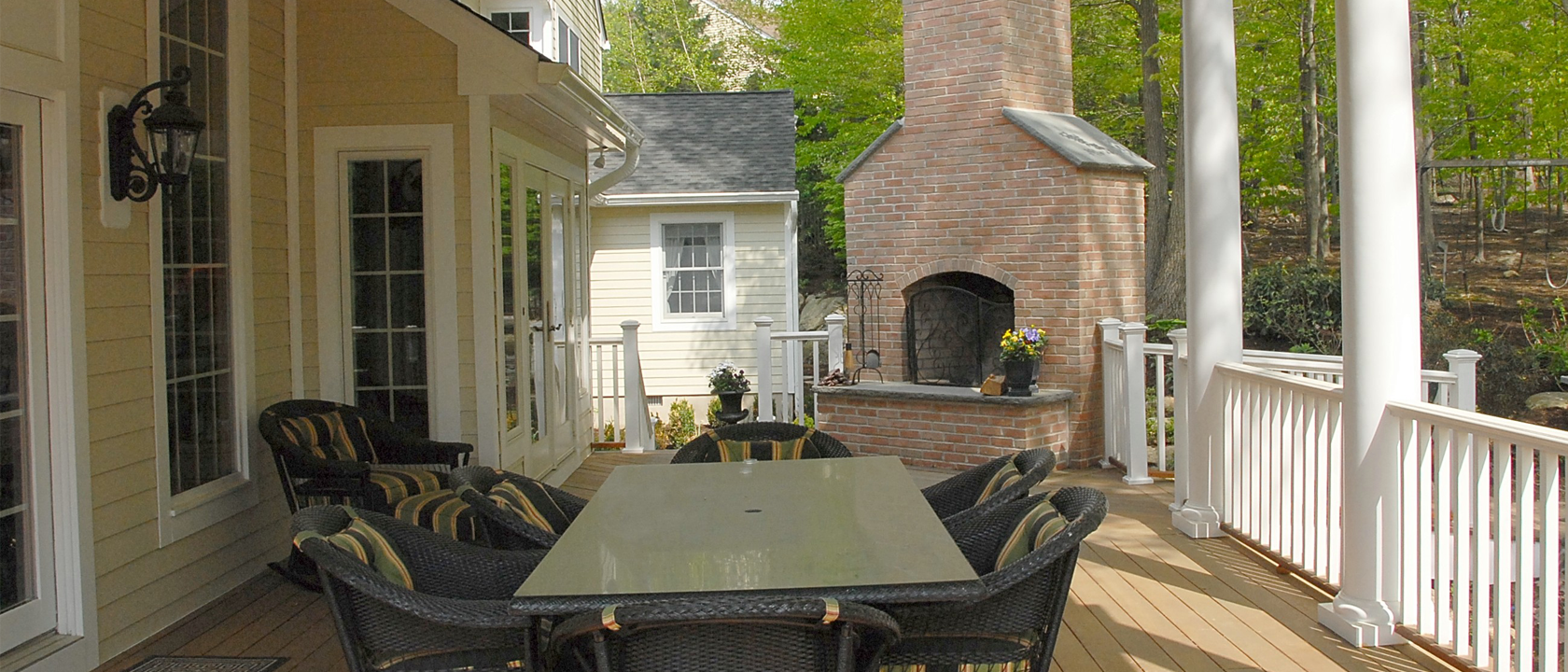 Homepage Slider Image: Outdoor FirePlace